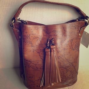 Patricia Nash Leather Bucket Bag